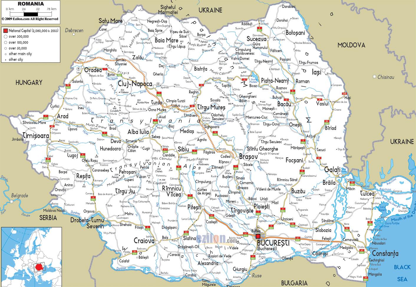 Картинки по запросу карта румынии