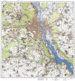 Карта Киева Панорамная